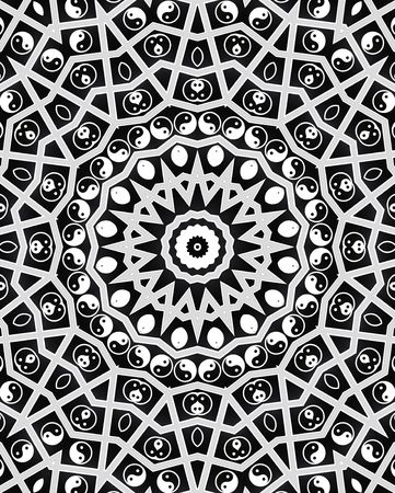 Yin Yang Spirit Mandala Stock Photo - 8169523