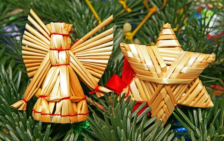 Angel and Star - Merry Christmas Stock Photo - 8169529
