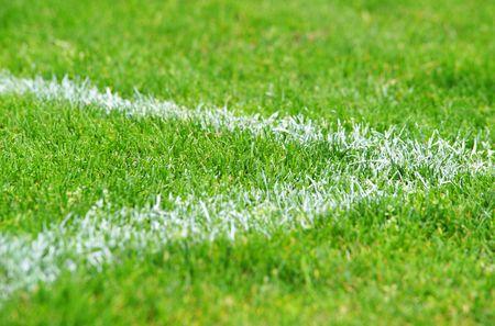Piłka nożna Grass - widok makro