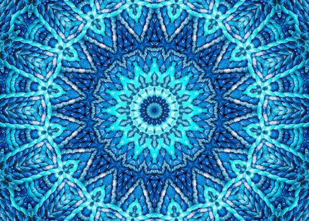mandalas: Cosmic Blue Mandala Stock Photo