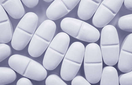 Tablets Macro photo