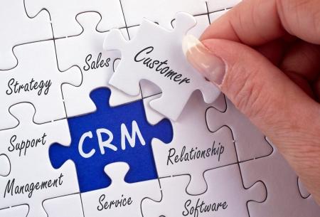 CRM - Customer Relationship Management Stock Photo - 17857899