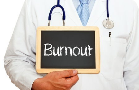 stressed out: Burnout Stock Photo