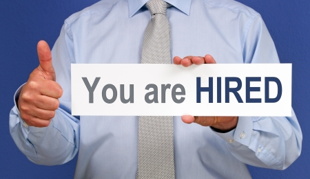 hired: You are HIRED