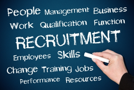Recruitment - Human Resources Stock Photo - 17860416