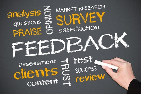 FEEDBACK Stock Photo - 17982086