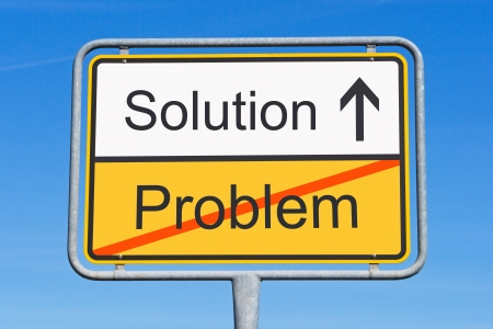 Problem and Solution Stock Photo - 17982083