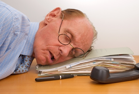 Burnout in the Office Stock Photo - 17982126