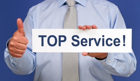 TOP Service Stock Photo - 17982148
