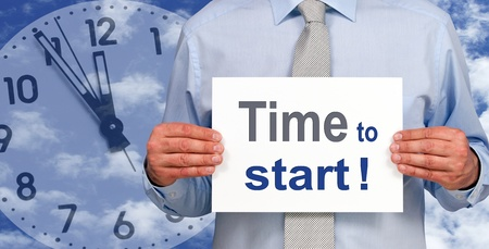 career coach: Time to start