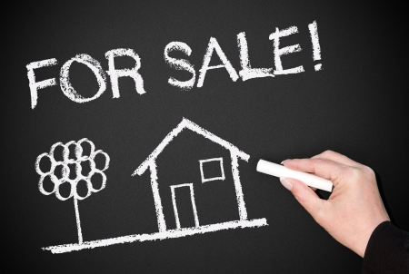 For Sale - Real Estate Concept Stock Photo - 17982156