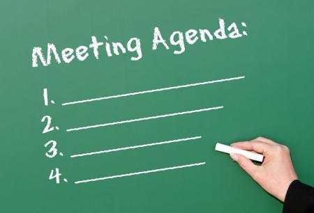 meeting agenda: Meeting Agenda
