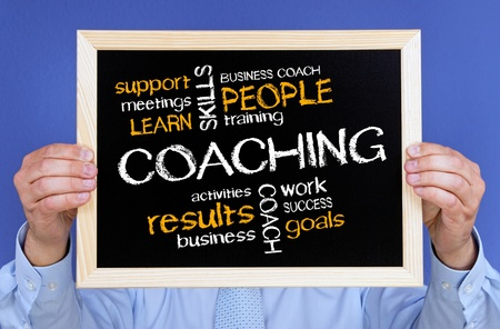 Coaching - Business Concept Stock Photo - 17982169