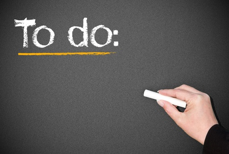be the change: To do list
