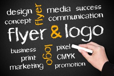 loghi aziendali: Flyer e Logo