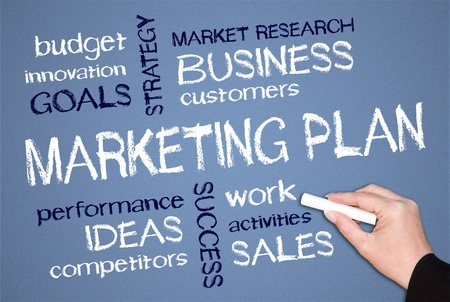 Marketing Plan Stock Photo - 18056194