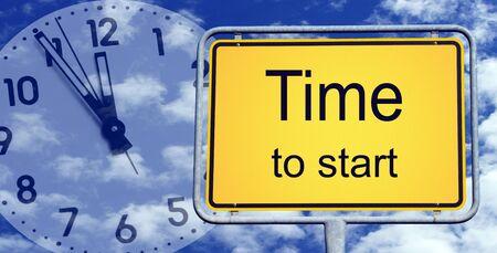 starting: Time to start