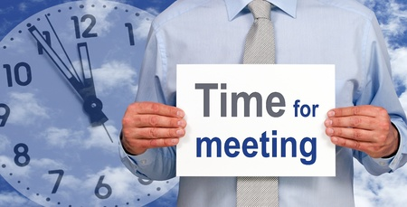 career coach: Time for meeting