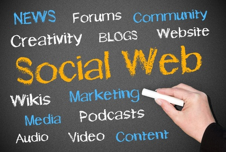 Social Web Stock Photo - 18101711