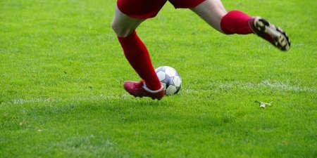 arquero futbol: Juego Futbol Foto de archivo