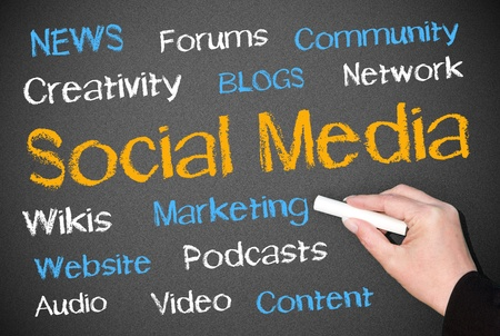 Social Media Stock Photo - 18145828