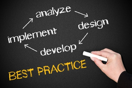 Best Practice - Success Cycle Stock Photo - 18145827