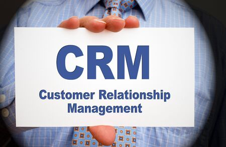 CRM - Customer Relationship Management Stock Photo - 18159314
