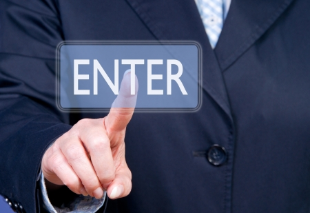 wor: Enter Stock Photo