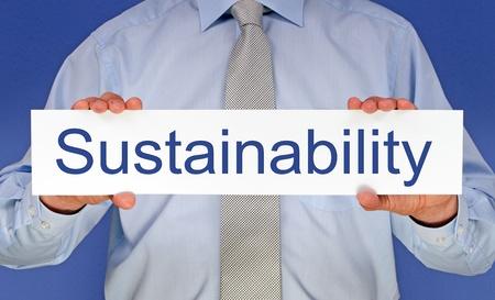 sustentabilidad: Sostenibilidad Foto de archivo