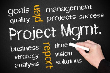 Project Management Stock Photo - 18159328