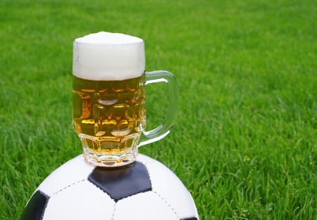 Beer and Soccer photo