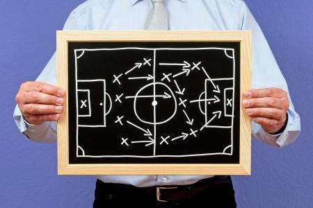 Soccer Trainer Stock Photo - 18384453