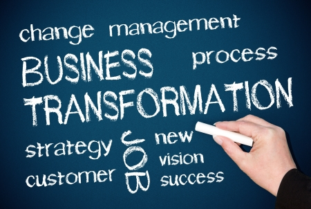 Business Transformation Stock Photo - 18384463