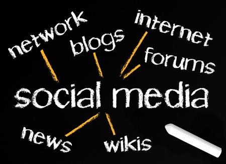 Social Media Stock Photo - 18384447