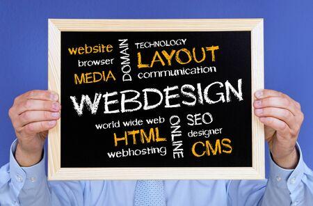web hosting: Webdesign