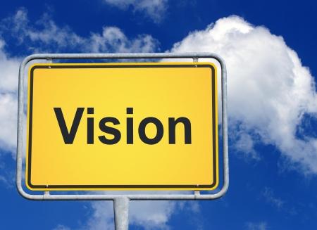 marketingplan: Vision Stock Photo