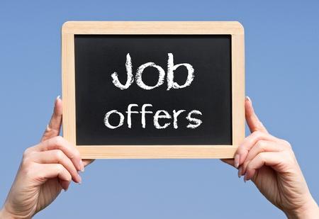 Job offers photo