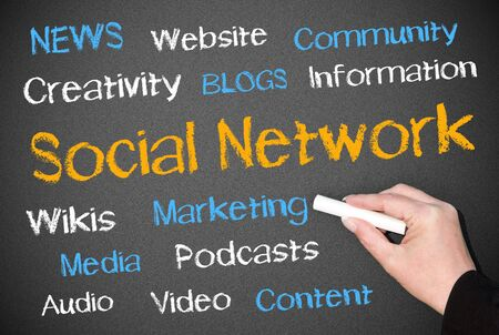 newsgroup: Social Network Stock Photo