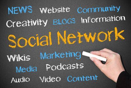 Social Network Stock Photo - 18419352