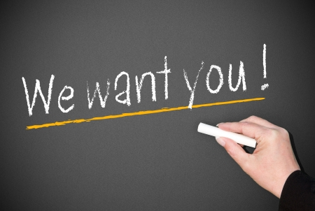 cv: Queremos que usted