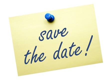 save the date Stock Photo - 18539490
