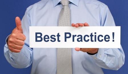 Best Practice   Stock Photo - 18707854