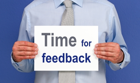 Time for feedback Stock Photo - 18707856