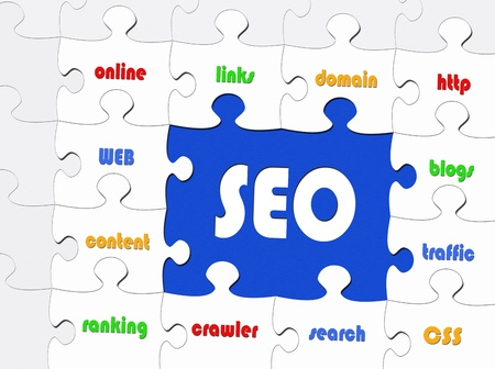 SEO - Search Engine Optimization Stock Photo - 18707857