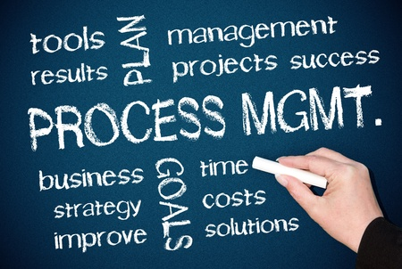 Process Management Stock Photo - 18707865