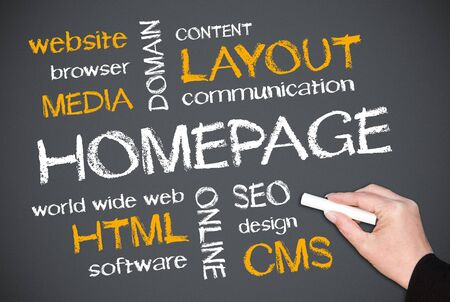xhtml: Homepage Concept