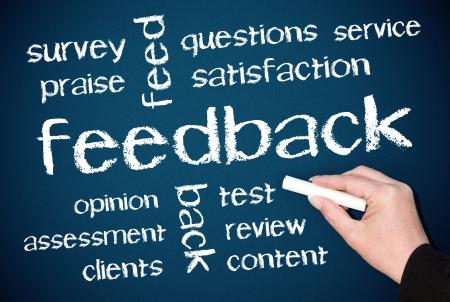 employee satisfaction: Feedback