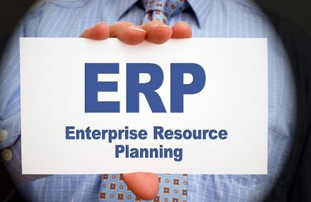 ERP - Enterprise Resource Planning 免版税图像