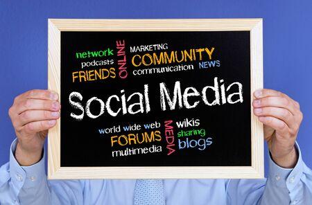 Social Media Concept Stock Photo - 18787905