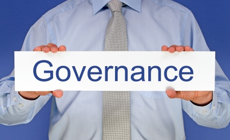 business roles: Governance Stock Photo